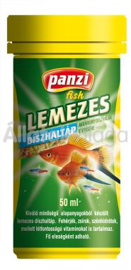 Panzi Lemezes díszhaltáp 50 ml-es
