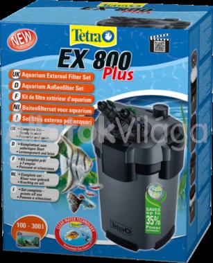 Tetra EX 800 Plus külsőszűrő töltettel 100-300 literig