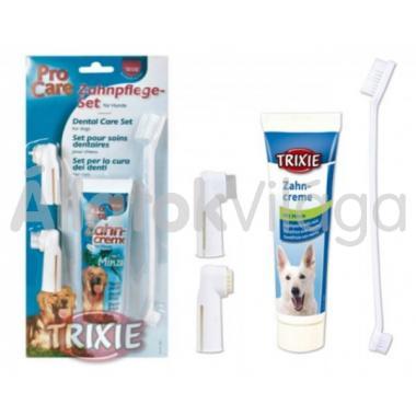 Trixie Fogkefe + fogkrém készlet 2561