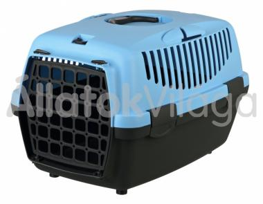 Trixie Capri 1 kutya, macska szállítóbox 32x31x48cm sötétszürke-pasztelkék 39812