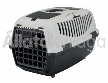Trixie Capri 2 kutya, macska szállítóbox 37x34x55cm sötét szürke-világos szürke 39821