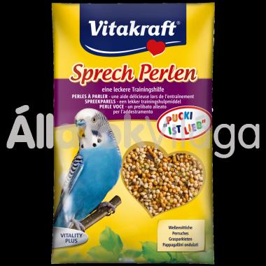 Vitakraft kismag Sprech-Perlen beszédserkentő hullámos papagájnak 20 g-os