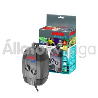 Eheim air pump 200 kétkivezetéses légpumpa + légvezeték + porlasztókő 3702010