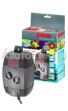 Eheim air pump 400 kétkivezetéses légpumpa + légvezeték + porlasztókő 3704010