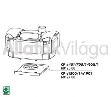JBL rotor alatti lemez CP e1500/1501/1901-hez 60127