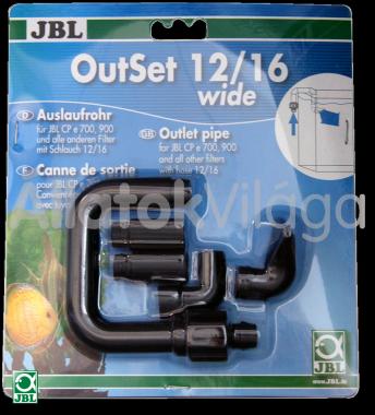 JBL Out-Set nyomó oldali cső szett 12/16 mm-es csőhöz CP e700/701/900/901-hez