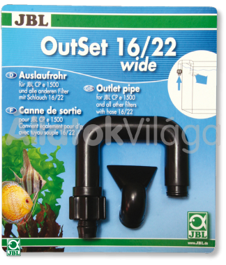 JBL Out-Set nyomó oldali cső szett 16/22 mm-es csőhöz CP e1500/1501-hez