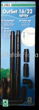 JBL Out-Set spray nyomó oldali esőztető 12/16 mm-es csőhöz CP e700/701/900/901-hez