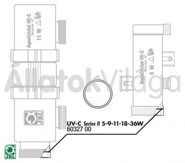 JBL belső tömítő gyűrű a házhoz UV-C UV-szűrő 5/9/11 W-oshoz 60327