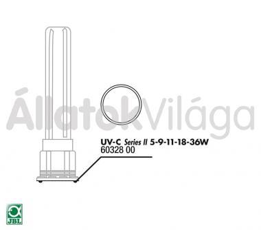 JBL belső tömítő gyűrű a házhoz UV-C UV-szűrő 5/9/11/18/36 W-oshoz 60328