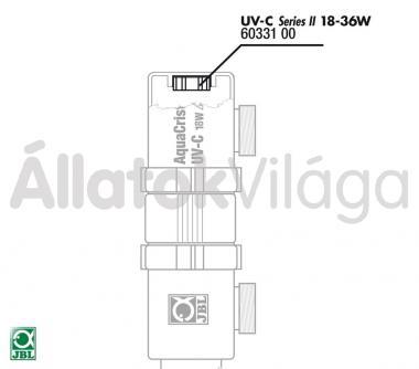 JBL gumitömítés UV-C UV-szűrő 18/36 W-oshoz 60331