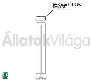 JBL gumitömítés UV-C UV-szűrő 18/36 W-oshoz 60332