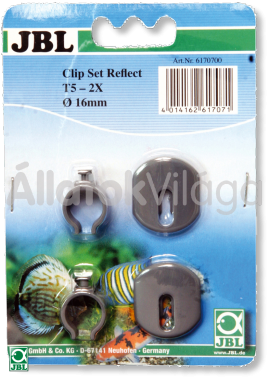 JBL Clip Set Solar Reflect-hez T8/26 mm műanyag 2 db-os