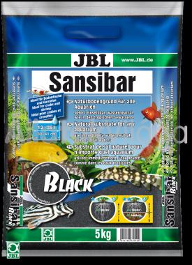 JBL Sansibar akvárium talaj black - fekete 5 kg-os 12-25 literig
