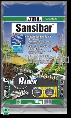 JBL Sansibar akvárium talaj black - fekete 10 kg-os 25-45 literig