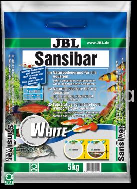 JBL Sansibar akvárium talaj white - fehér 5 kg-os 12-25 literig