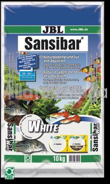 JBL Sansibar akvárium talaj white - fehér 10 kg-os 25-45 literig