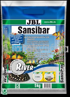 JBL Sansibar akvárium talaj river - folyami 5 kg-os 12-25 literig