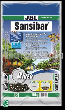 JBL Sansibar akvárium talaj river - folyami 10 kg-os 25-45 literig
