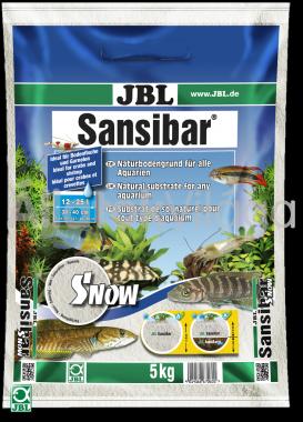 JBL Sansibar akvárium talaj snow - hófehér 5 kg-os 12-25 literig