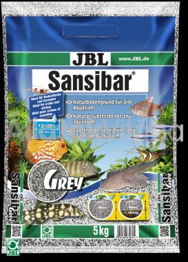 JBL Sansibar akvárium talaj grey - szürke 5 kg-os 12-25 literig