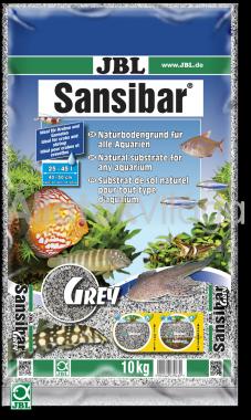JBL Sansibar akvárium talaj grey - szürke 10 kg-os 25-45 literig