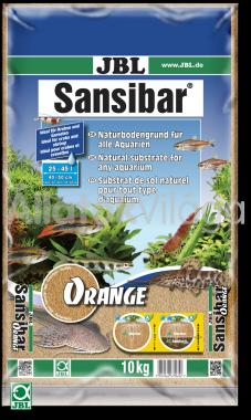 JBL Sansibar akvárium talaj orange - narancs 10 kg-os 25-45 literig
