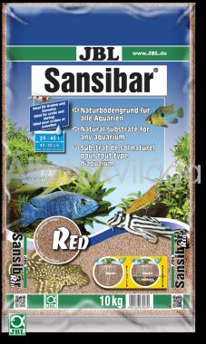 JBL Sansibar akvárium talaj red - vörös 10 kg-os 25-45 literig