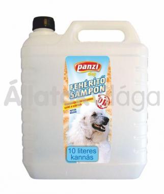 Panzi Fehérítő sampon kutyáknak 10 literes