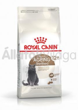 RoyalCanin Ageing Sterilised 12+ nagyon idős ivartalanított macska eledel száraz 4 kg-os