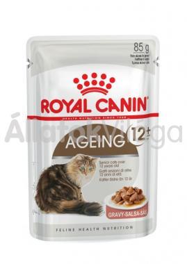 RoyalCanin Ageing 12+ Gravy nagyon idős macskáknak szószos alutasakos eldel 85 g-os