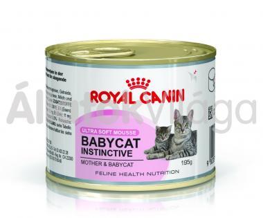 RoyalCanin Babycat Instinctive kölyökmacska eledel nedves 195 g-os