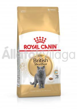 RoyalCanin British Shorthair Adult-felnőtt macska eledel száraz 10 kg-os