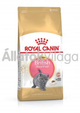 RoyalCanin Kitten British Shorthair kölyök macska eledel száraz 2 kg-os