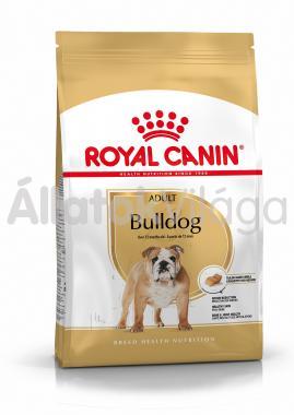 RoyalCanin Bulldog Adult-felnőtt kutyaeledel száraz 3 kg-os