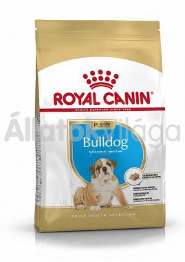 RoyalCanin Bulldog Junior-kölyök kutyaeledel száraz 3 kg-os