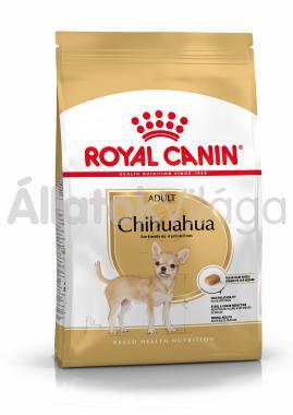 RoyalCanin Chihuahua Adult-felnőtt kutyaeledel száraz 500 g-os