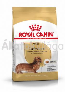 RoyalCanin Dachshund (tacskó) Adult-felnőtt kutyaeledel száraz 1,5 kg-os