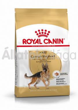 RoyalCanin German Shepherd (német-juhász) Adult-felnőtt kutyaeledel száraz 12 kg-os