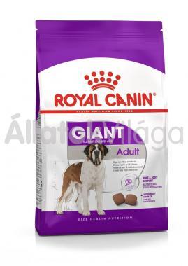 RoyalCanin Giant Adult-felnőtt kutyaeledel 4 kg-os