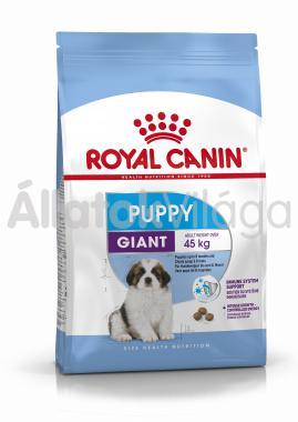RoyalCanin Giant Puppy kölyök kutyaeledel száraz 3,5 kg-os