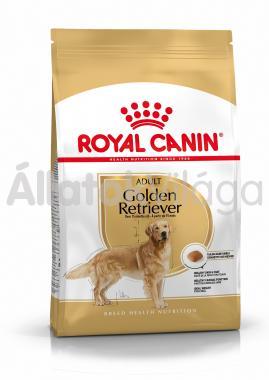 RoyalCanin Golden Retriever Adult-felnőtt kutyaeledel száraz 12 kg-os