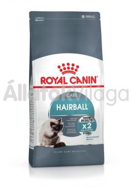 RoyalCanin Hairball Care (szőrlabdák ellen) macska eledel száraz 10 kg-os