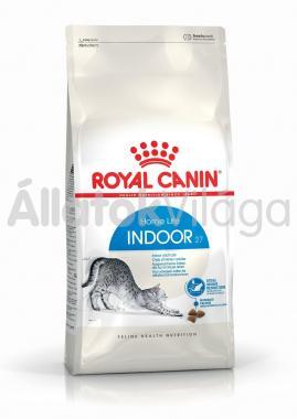 RoyalCanin Indoor 27 - lakásban tartott felnőtt macska száraz eledel 10 kg-os