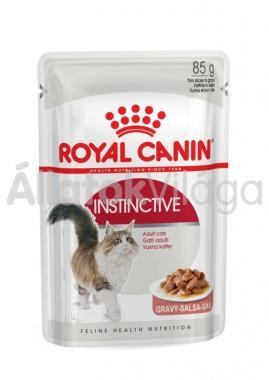 RoyalCanin Instinctive Gravy felnőtt macskáknak szószos alutasakos eldel 85 g-os