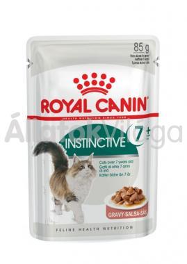 RoyalCanin Instinctive 7+ Gravy idősebb macskáknak szószos alutasakos eldel 85 g-os