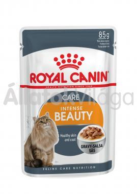 RoyalCanin Intense Beauty Care Gravy szőrtápláló macskáknak szószos alutasakos eldel 85 g-os