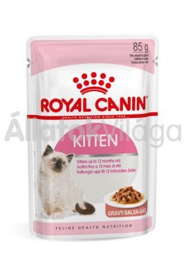 RoyalCanin Kitten Gravy kölyök macskáknak szószos alutasakos eldel 85 g-os