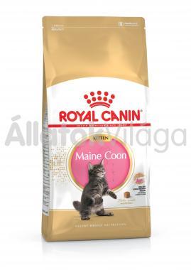 RoyalCanin Kitten Maine Coon kölyök macska eledel száraz 10 kg-os