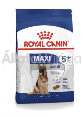 RoyalCanin Maxi Adult-felnőtt 5+ idős kutyaeledel 4 kg-os